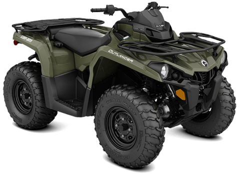 2017 Can-Am Outlander/Outlander MAX 450/570